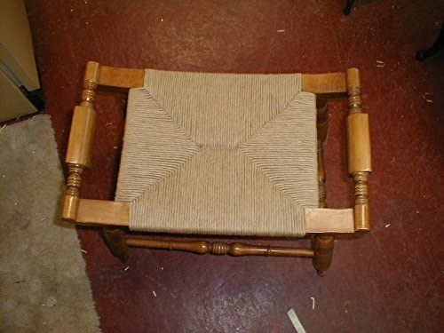 Kraft Brown Fiber Rush Ladderback Chairs Seating Material 5//32 10 Pound Reel of Fibre Rush Size 5//32 Enough for 4 Seats 5//32