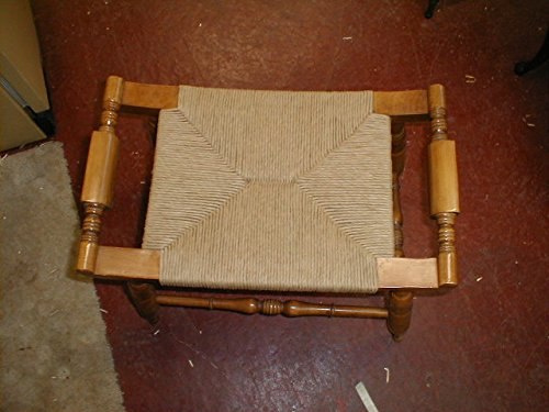 10 Pound Reel of Fibre Rush Size 7/32 Enough for 4 Seats, Kraft Brown Fiber Rush Ladderback Chairs Seating Material (7/32) (7/32) by Weavemaster (Image #7)
