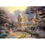 The Night Before Christmas: Thomas Kinkade - 1000 piece Jigsaw Puzzle