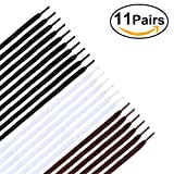 Winomo 11 Pairs Flat Shoelaces Shoe Strings For Sneakers - Black White Brown | amazon.com