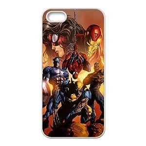 iPhone 4 4s Cell Phone Case White Superhero Captain America, Spider Man, Iron Man, Wolverine, ant man, Green Arrow, Batman, Joker Logo 26 LV7087541