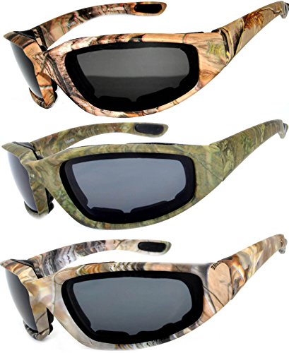 OWL - Riding Glasses Polarized Camo Smoke (3 Pack) Camo Sport Glasses