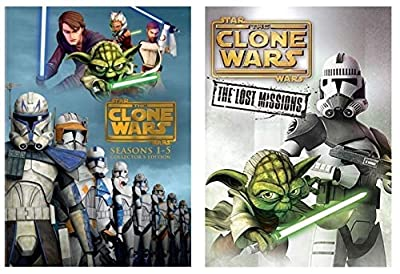Star Wars: The Clone Wars Complete Series Seasons 1-6 DVD Box Set