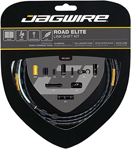 Jagwire Road Elite Link Shift Cable Kit Limited Edition, One Size