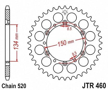 JT Sprockets JTA460.49 49T Aluminum Rear Sprocket
