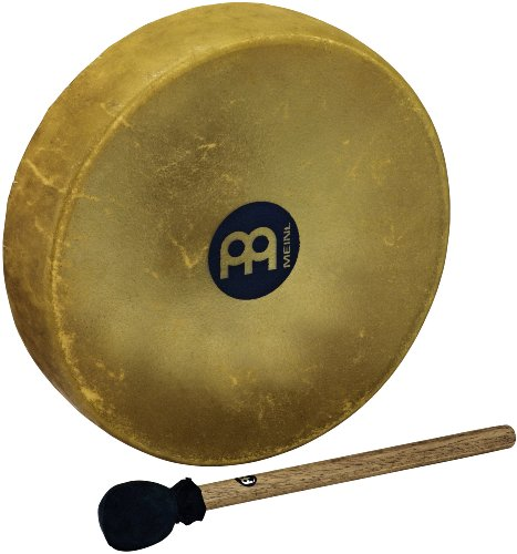 Meinl Percussion HOD125 Native American-Style Hoop Drum With Buffalo Head, 12 1/2-Inch