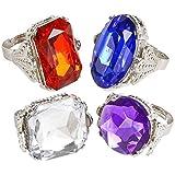 Rhode Island Novelty Jumbo Jeweled ngs Assortment (1 dz)