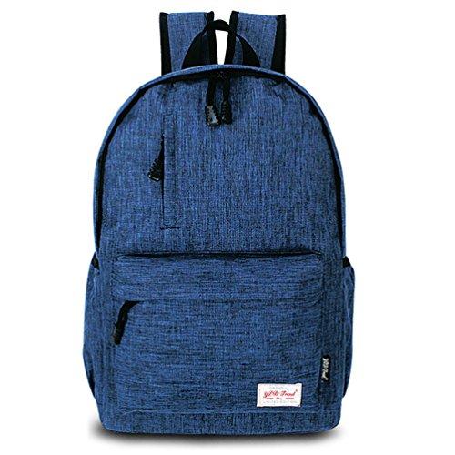 Datomarry Stylish Kids Teens Elementary Grade Royalblue School Book Bag