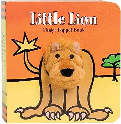 Little Lion: Finger Puppet Book (Little Finger Puppet Board
