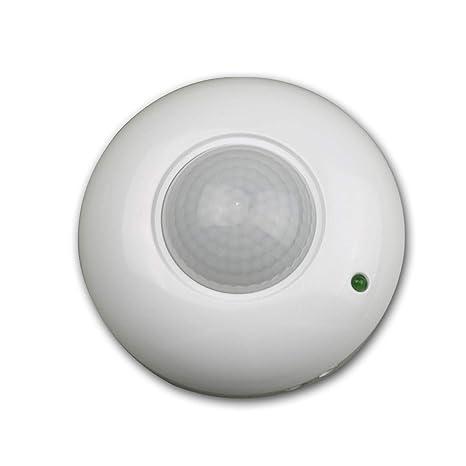 Kanlux - Detector de movimiento para techo (360º, rango de 9 m),
