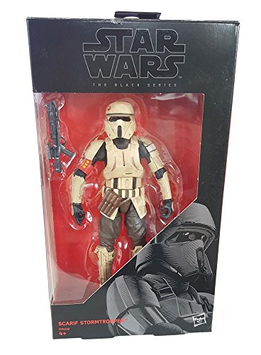 Star Wars, 2016 The Black Series, Scarif Stormtrooper (Rogue One) Exclusive Action Figure, 6 Inches (Star Wars Black Series 6 Inch 2016)