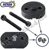 Remachadora de cadena de motocicleta Afam herramienta «Easy Chain Riveter» RIV5 para remaches huecos (520 / 525 / 530) DID RK Eunuma