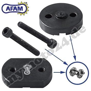 Remachadora de cadena de motocicleta Afam herramienta «Easy Chain Riveter» RIV5 para remaches huecos (520 / 525 / 530) DID RK Eunuma: Amazon.es: Coche y ...