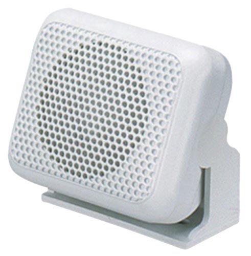 Shakespeare ES-2 5 Watt White Marine Radio External Speaker (Marine Loud Vhf Radio Hailer)
