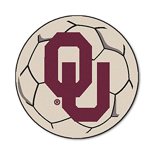 University of Oklahoma Soccer Ball Rug (Rug Ball Soccer University)