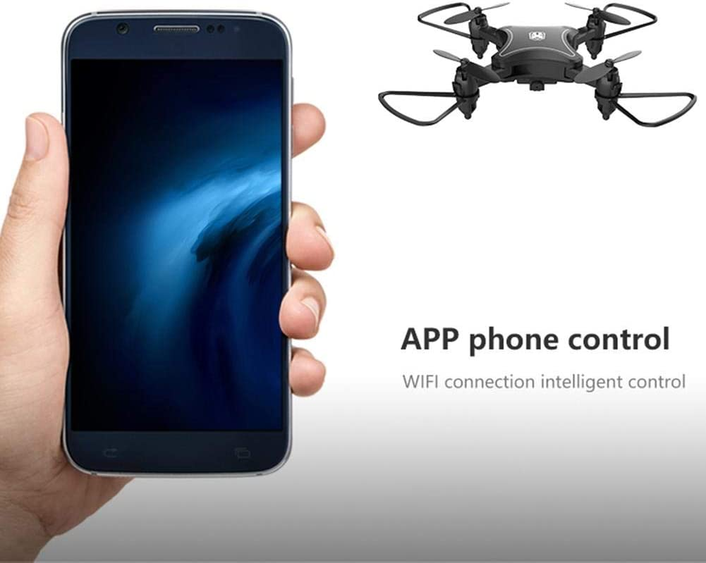 Mini Drone FlyCam Quadcopter UAV with 4K Camera 4-Axis Gimbal GPS Folding Remote Control 15min Flight Time