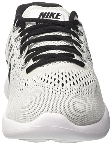 Nike Hommes Lunarglide 8 Chaussures De Course Blanc / Noir