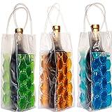 JERN Wine Bag Beer Bottle Cooler & Ice Chiller Freezable Carrier(Pack of 2)