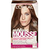 L'Oreal Paris Sublime Mousse by Healthy Look Hair Color, 53 Golden Medium Brown