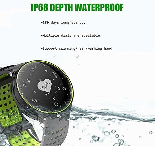 Microwear X2 Smartwatch Bluetooth 4.0 IP68 Sedentario a Prueba de ...