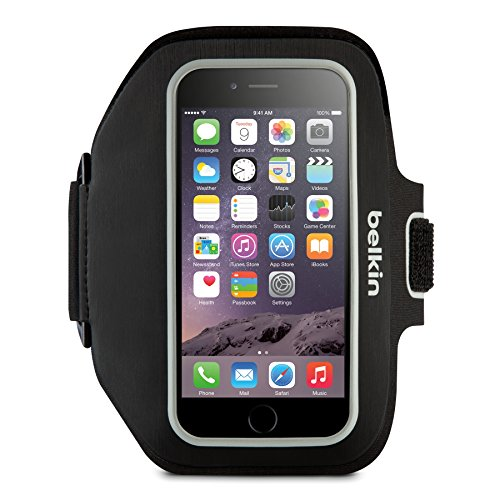 - Belkin Sport-Fit Plus Armband for iPhone 6 Plus / 6S Plus, Fitbit Alta, Fitbit Blaze and Fitbit Charge HR (Black)