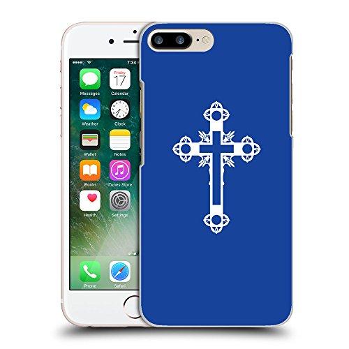 GoGoMobile Coque de Protection TPU Silicone Case pour // Q09330613 Croix chrétienne 43 Bleu // Apple iPhone 7 PLUS