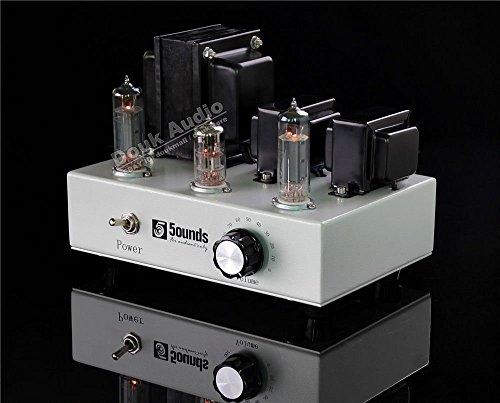 Douk Audio Hi-Fi 6P14(EL84/6BQ5) Class A Single-ended Tube Amplifier Mini Amp Douk Audio