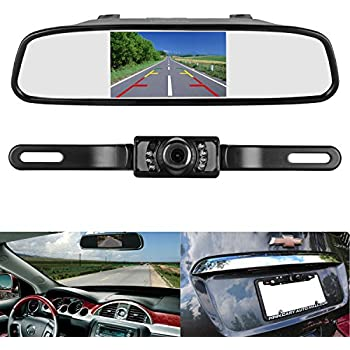 Amazon Com Peak Pkc0rg Small Rearview Mirror With 3 5