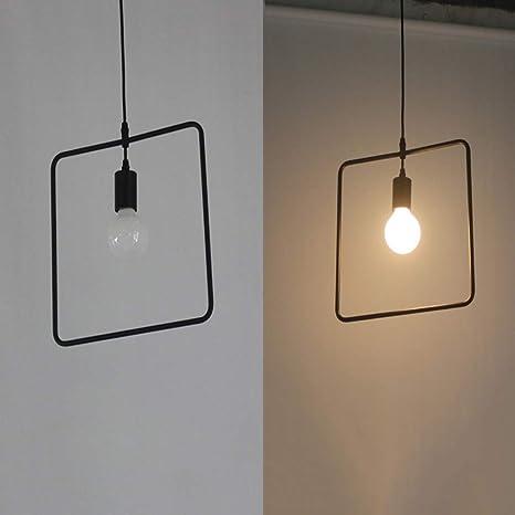 YA&NG Araña Creativa Individual, lámpara de Techo Retro ...