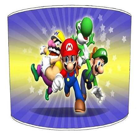 Premier Abat-jour plafond Super Mario et Yoshi Abat-jour pour enfant, 20,3 cm Premier Lampshades