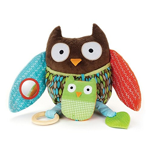 Skip Hop Hug (Skip Hop Baby Treetop Friends Hug-and-Hide Wise Owl Activity Toy, Multi)