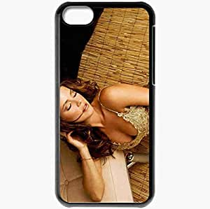 Personalized iPhone 5C Cell phone Case/Cover Skin Alicia Machado Black