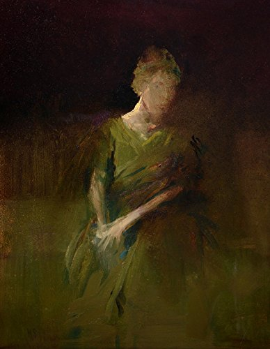 (The Green Dress (Print - 21x14 in.))