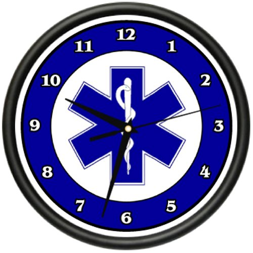 Amazon.com: PARAMEDIC Wall Clock ambulance rescue medical emt emergency first aid gift: Home & Kitchen