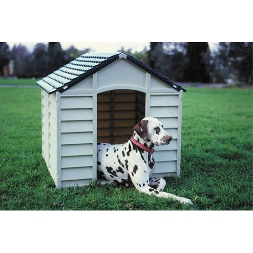 Large Strong Durable Plastic Dog Cats Pets Kennel / Winter House