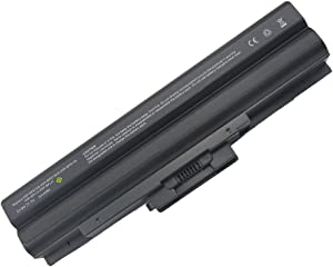 Bay Valley Parts 9 Cell 7800mah Laptop Battery for Sony VAIO VGP-BPL13 VGP-BPL21 VGP-BPS13 VGP-BPS13/B VGP-BPS13/Q VGP-BPS13A VGN-AW11M/H VGN-AW11S/B PCG-81214L PCG-81114L