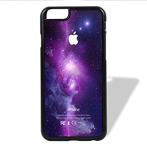 Coque,Purple Galaxy Nebula With Apple Logo 6/6s Coque iphone Case Coque, Purple 6/6s Coque iphone Case Cover