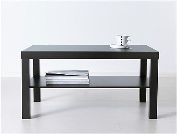 Mesa de café negro / marrón., plástico, Blanco, coffee table: IKEA ...