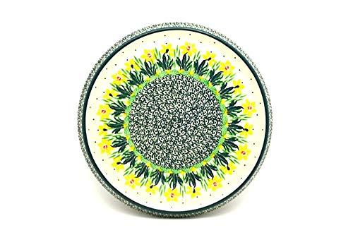 - Polish Pottery Trivet - Daffodil