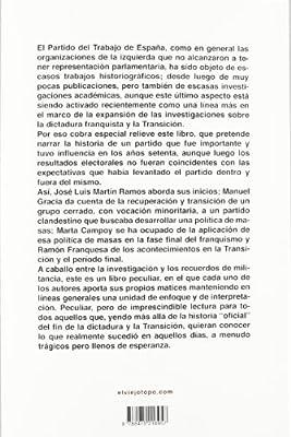 Pan, trabajo y libertad: Historia del Partido del Trabajo de España Ensayo: Amazon.es: Martín Ramos, José Luis: Libros