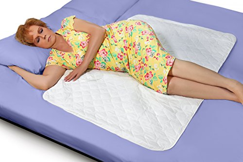 Premium Quality Bed Pad, Quilted, Waterproof, and Washable, 34
