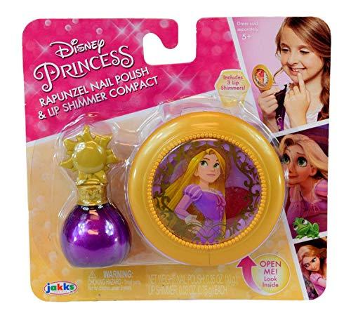 Disney Princess Rapunzel Nail Polish and Lip Shimmer Compact