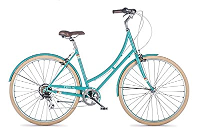 PUBLIC Bikes Women's C7 Dutch Style Step-Thru 7-Speed City Bike