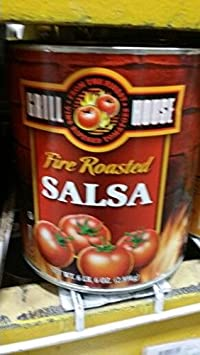 Grill House Fire Roasted Salsa 102 Oz (2 Pack)