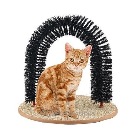 jaytex Cepillo arco para gatos, para cuidado piel/Masaje: Amazon.es: Productos para mascotas