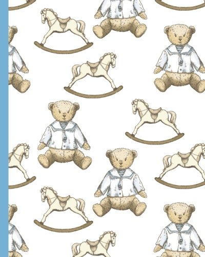 Download Baby Teddy Bear 8x10 Lined Blank Notebook Journal 200 Pages: Pregnancy Themed Composition Diary ebook