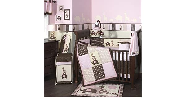 Amazon.com : Lambs & Ivy Emma-Series Emma Crib Bedding Collection : Baby