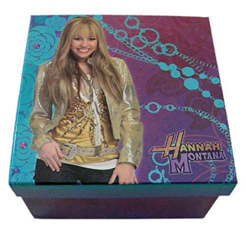 Disney's Hannah Montana Blue and Purple Colored Keepsake Jewelry Box (Jewelry Montana Hannah)