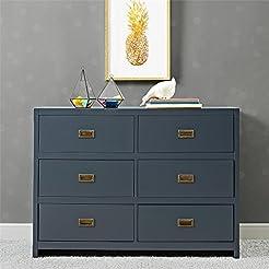 Baby Relax Miles, 6 Drawer Dresser, Grap...