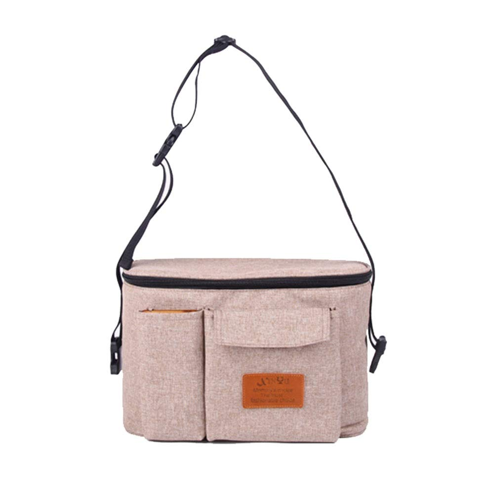 Stroller Organizer Universal Baby Stroller Organizer Bag Diaper Bag with Cup Holders for Bottles,Diapers,Toys for Mom and Dad 5 Colors Parents Stroller Organizer Bag